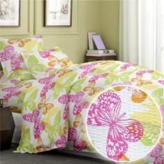 Dormitor - Lenjerie pat o persoana creponata