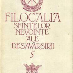 Carti ortodoxe - Filocalia sfintelor nevointe ale desavarsirii, vol. 5 - 425888