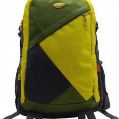 Ghiozdan Daco adolescenti galben cu verde