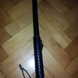 Autoaparare - Pulan, baston vechi de politie germana, din cauciuc cu spray in maner