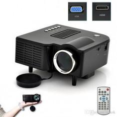 BLACK FRIDAY! VIDEOPROIECTOR CU LED, TELECOMANDA, HDMI, USB STICK/CARD.OFERTA UNICA, Sub 1499, Sub 1000, peste 25 000 ore