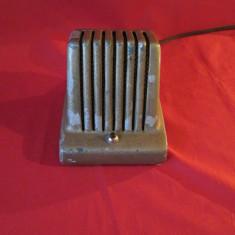 Interfon de birou vechi, carcasa metalica, interfon de colectie anii 50