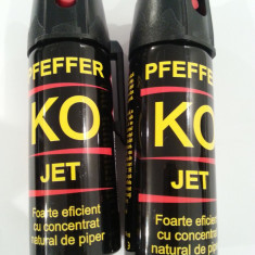 Spray paralizant - Spray autoaparare KO Jet cu piper 50 ml - 13 lei