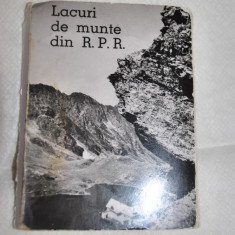 Carte Postala Muntenia dupa 1918, Sinaia, Necirculata, Fotografie - LACURI DE MUNTE DIN RPR- 10 MINIVEDERI DIN 1960 ALBNEGRU