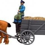 Caruta cu cai HO, Faller 154021