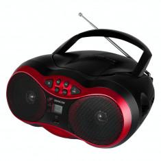 Combina audio - Sencor Radio/CD Player SPT 233, negru/ rosu