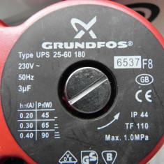 POMPA RECIRCULARE GRUNDFOS 25 60(6) 180 3 trepte