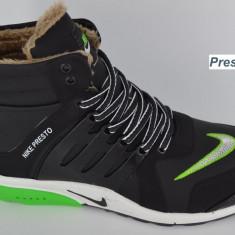 Bocanci barbati Nike, Piele sintetica - Bocanci NIKE PRESTO