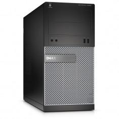Sisteme desktop fara monitor - Dell Sistem brand DELL OptiPlex 3020 MT, Procesor Intel® Pentium® G3250 3.2GHz Haswell, 4GB DDR3, 500GB HDD, GMA HD, Linux
