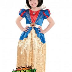 CLD106 Costum Alba ca Zapada copii - Costum copii