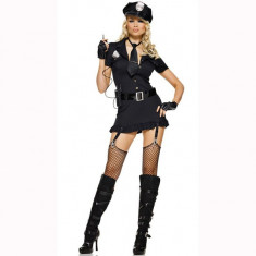 Y42 Costum Halloween politista, Marime: M