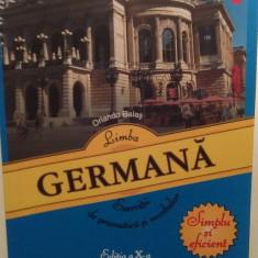 LIMBA GERMANA - EXERCITII DE GRAMATICA SI VOCABULAR - ORLANDO BALAS - Curs Limba Germana polirom