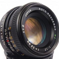 Obiectiv Revuenon MC 50mm 1.7 Pentax K adaptabil digital - Obiectiv DSLR Pentax, Standard