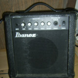 Amplificator Chitara - AMPLIFICATOR IBANEZ MODEL GTA10, FUNCTIONEAZA .