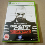 Joc Tom Clancy's Splinter Cell Double Agent, xbox360, original, 24.99 lei!