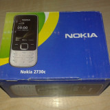 Telefon Nokia, Argintiu, Nu se aplica, Neblocat, Fara procesor, Nu se aplica - Nokia 2730 Clasic Nou in cutie, 3G, Bluetooth, Ovi mail.Nefolosit! poze Reale!