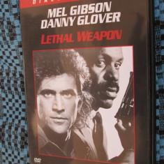 LETHAL WEAPON I (1 DVD FILM - ORIGINAL - CA NOU!!!) - Film actiune, Romana