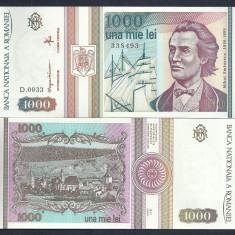 ROMANIA 1000 1.000 LEI 1993 [0] UNC, necirculata, An: 1993