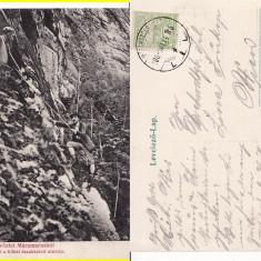 Maramures- alpinism - clasica, rara - Carte Postala Maramures 1904-1918, Circulata, Printata
