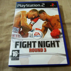 Joc Fight Night Round 3, PS2, original, 24.99 lei(gamestore)! - Jocuri PS2 Ea Sports, Sporturi, 16+, Multiplayer