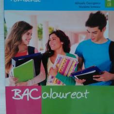 Teste Bacalaureat - Culegere Bacalaureat LIMBA ROMÂNĂ, 85 Teste BAC, Mihaela Georgescu, Ed. Booklet