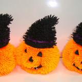 Set 2 jucarii silicon cu led - modele Halloween - h 9 cm Dovlecel - Figurina Animale Altele, 4-6 ani, Unisex