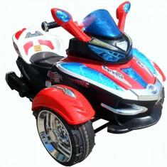 Masinuta electrica copii, 4-6 ani, Unisex, Rosu - Triciclu Motocicleta Electrica HC1038 cu Telecomanda pentru Copii