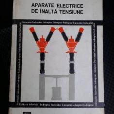 Carti Energetica - APARATE ELECTRICE DE ÎNALTĂ TENSIUNE - BERGU HERSCOVICI, PREDA, DORU IONESCU