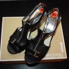Sandale MICHAEL KORS sua - Sandale dama Michael Kors, Marime: 40, Culoare: Negru, Piele naturala