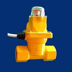 Resigilat - Electrovalva GAZ DCF-80 3/4 din metal pt. exterior - Sisteme de alarma