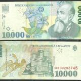 BANCNOTA 10.000 LEI 1999, UNC