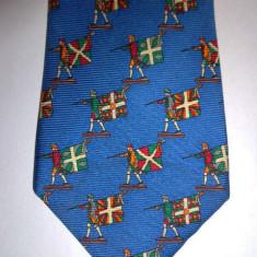 Cravata matase CHANEL 100% originala - Cravata Barbati Chanel, Culoare: Multicolor, Vacanta