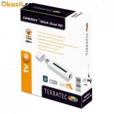 Tuner digital TerraTec DVB-T Stick T-Stick Dual RC mit 2 Tunern PIP - TV-Tuner PC Terratec, USB, Extern (necesita PC)