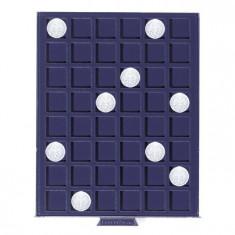 album clasor - Cutie MBS din PVC pentru 48 monede, diameter max. 24 mm.