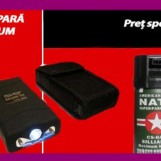 Spray paralizant - SET AUTOAPARARE : ELECTROSOC LANTERNA SPRAY HUSA