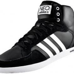 Ghete barbati Adidas, Piele naturala - Ghete ADIDAS Neo Slim hi top trainer, piele naturala, originali. Livrare gratis.