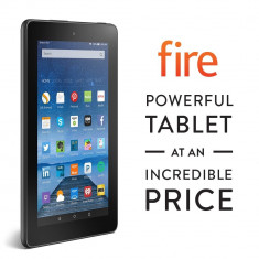 Tableta Kindle Fire - Amazon Kindle Fire 7'', Wi-Fi, 8 GB - o tableta excelenta la pret ultra-economic