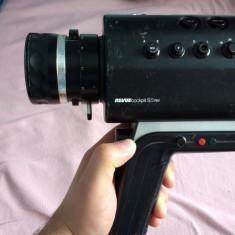 Camera video Revue Cockpit S/8 RM colectie retro 8mm 1976 metal + caseta Japan - Aparat Filmat