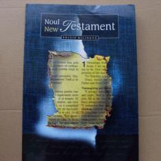 NOUL / NEW TESTAMENT - BILINGV ROMANA ENGLEZA { TRAD. IN LIMBA ROMANA MODERNA } - Biblia