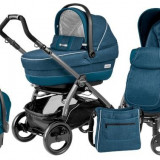 Carucior 3 In 1 Book Plus 51 Black Completo Sl - Carucior copii 3 in 1 Peg Perego