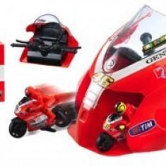 Mondo Motors Set Lansator Cu 2 Motociclete Ducati Valentino Rossi - Masinuta electrica copii