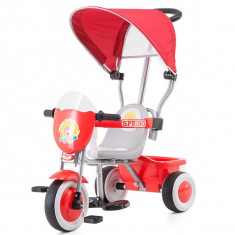 Tricicleta Cu Copertina Chipolino Spring Red - Tricicleta copii