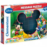 Puzzle 104 Piese-Mesaj-Clubul Lui Mickey Mouse