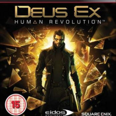 Deus Ex 3 Human Revolution Ps3 - Jocuri PS3 Square Enix