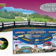 Trenulet Electric Calatori Cercanias Renfe Cu Peisaj - Trenulet de jucarie Pequetren
