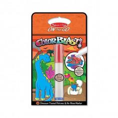 Colorblast Caiet De Activitati Cu Dinozauri Melissa And Doug - Set rechizite