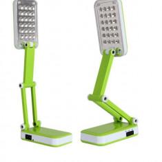 Iluminat decorativ - Lampa de birou pliabila cu led-uri