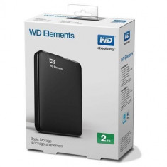 HARD EXTERN Western Digital PORTABIL NOU SIGILAT WD ELEMENTS 2TB USB 3.0 GARANTI - HDD extern Western Digital, 2-4 TB, Rotatii: 5400, 1.8 inch