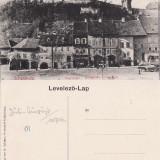Sighisoara - Vedere generala- rara - Carte Postala Transilvania 1904-1918, Necirculata, Printata