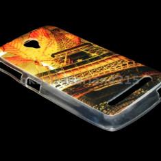 Husa telefon, Allview V1 Viper S, Portocaliu, Piele Ecologica, Husa, Cu clapeta - HUSA ALLVIEW V1 VIPER S SILICON MODEL 02 AUTUMN - CURIER GRATUIT